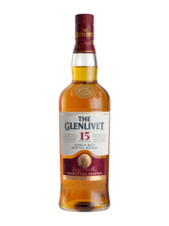 Whisky écossais The Glenlivet 15 ans d'âge French Oak Reserve