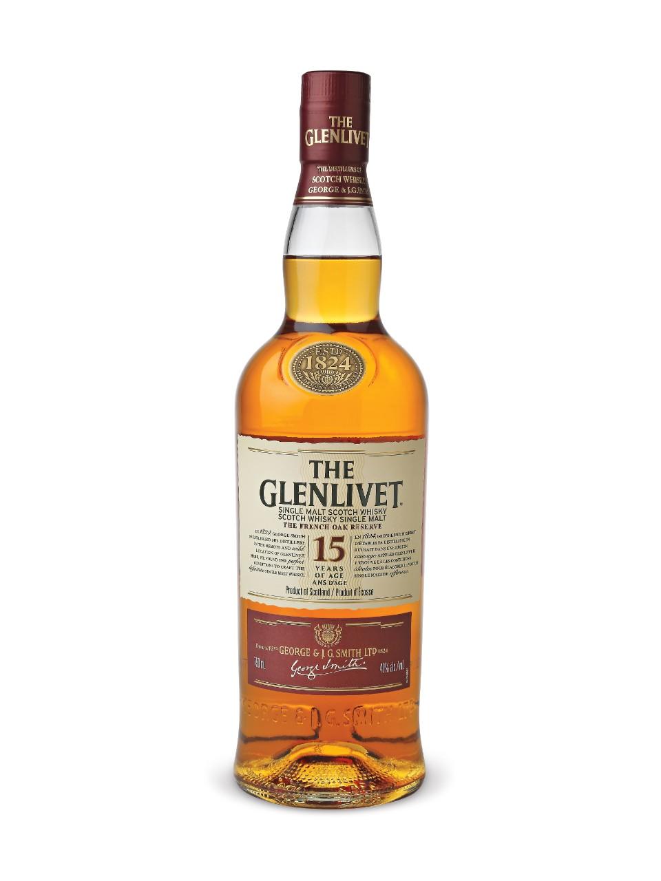 The Glenlivet French Oak Reserve 15 Year Old Single Malt Scotch Whisky