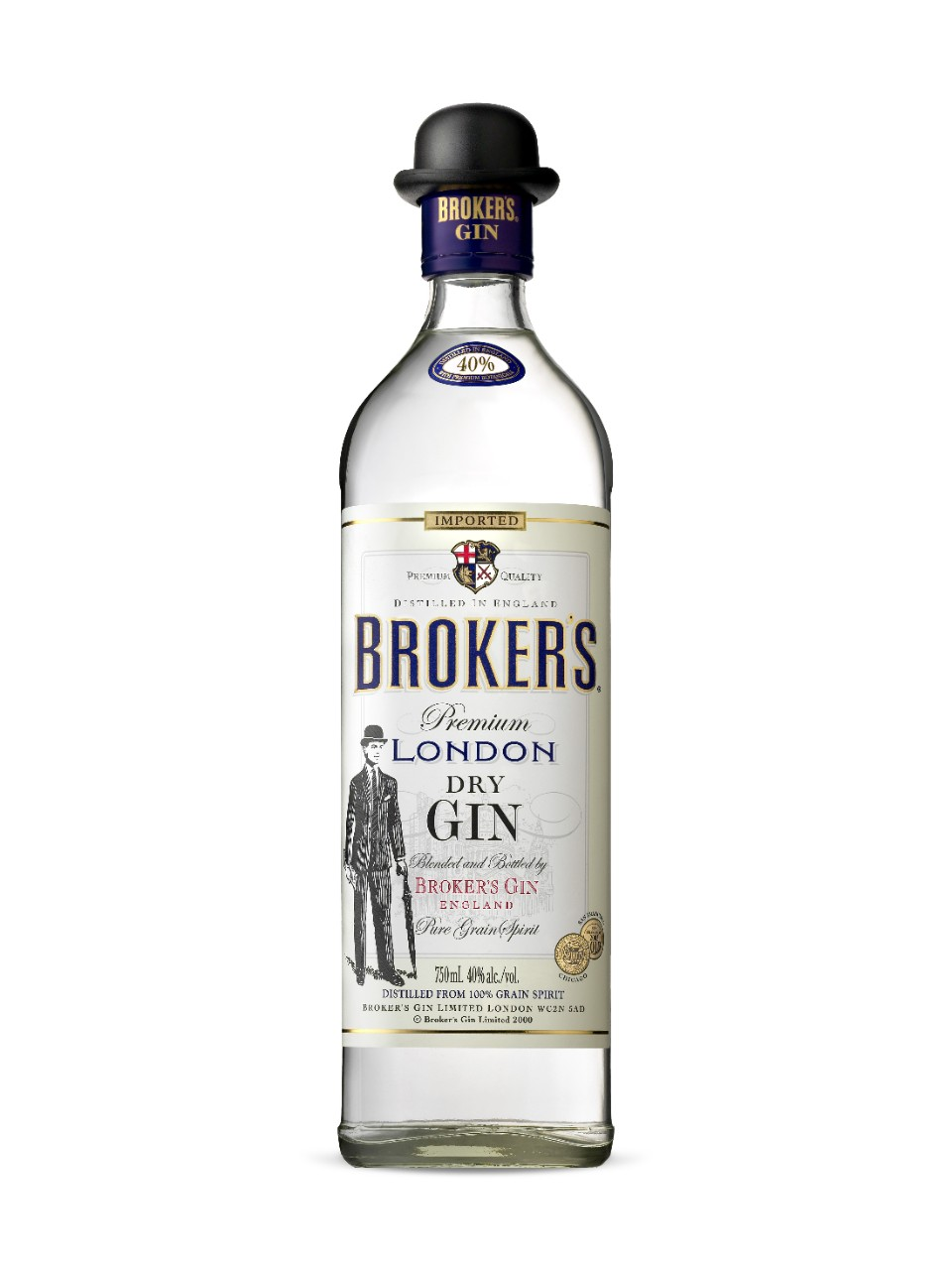 Image for Broker's Premium London Dry Gin from LCBO