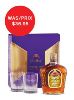 Crown Royal with Glasses Gift Pk