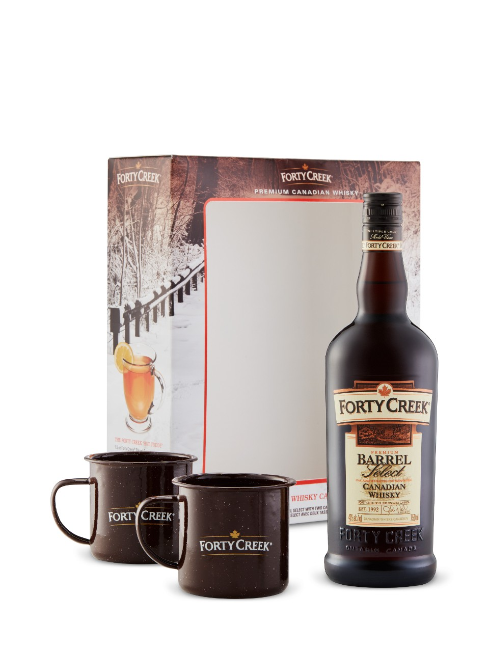 Image for Forty Creek Barrel Select W/Camping Mugs from LCBO