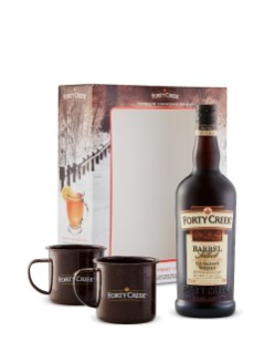 Forty Creek Barrel Select W/Camping Mugs