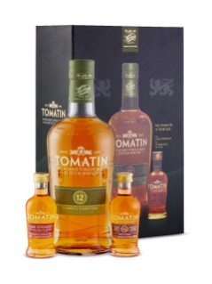Tomatin 12 Yo Scotch Gift Pk