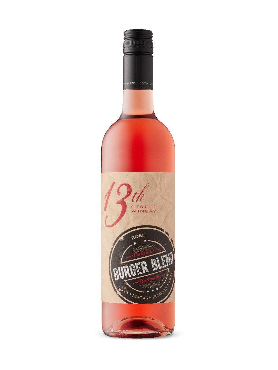 Image for 13th Street Burger Blend Rose from LCBO