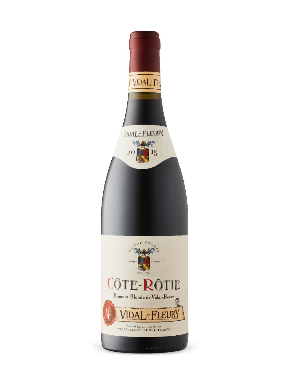 Image for J.Vidal-Fleury Cote-Rotie Brune & Blonde 2015 from LCBO