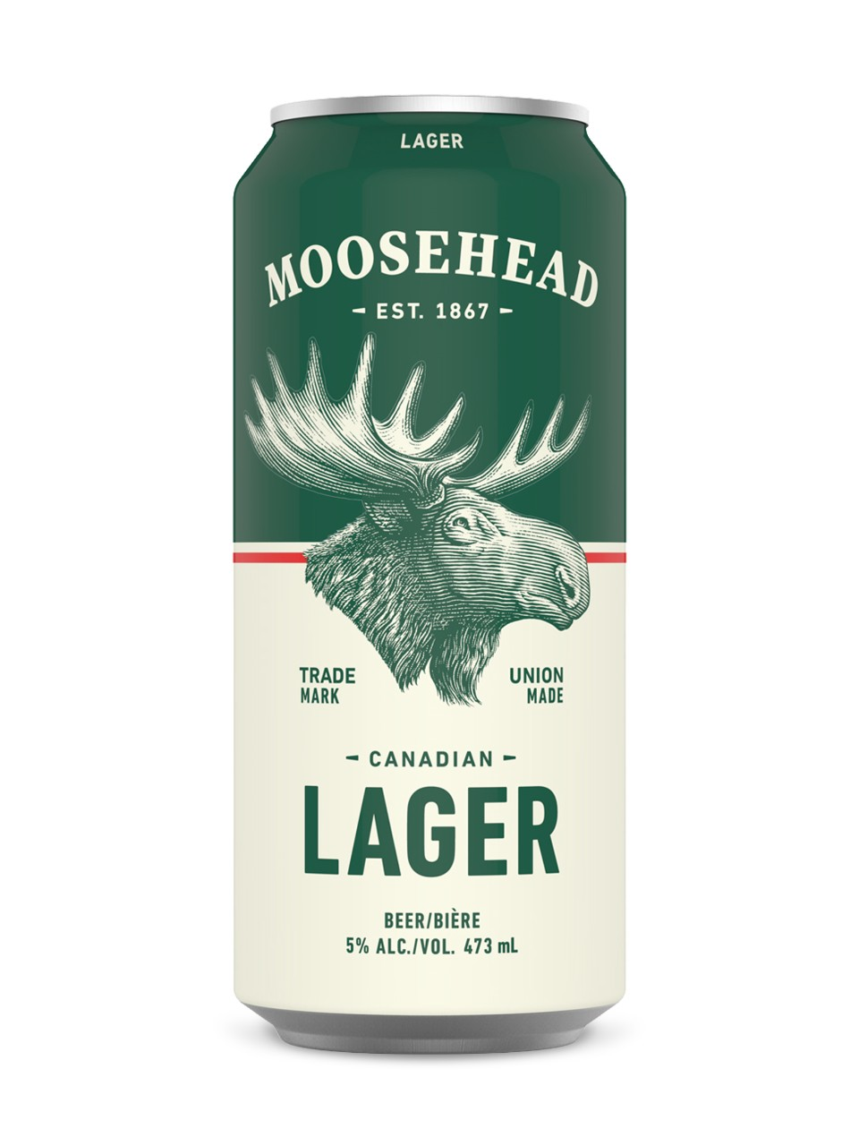 Moosehead Lager Can Image