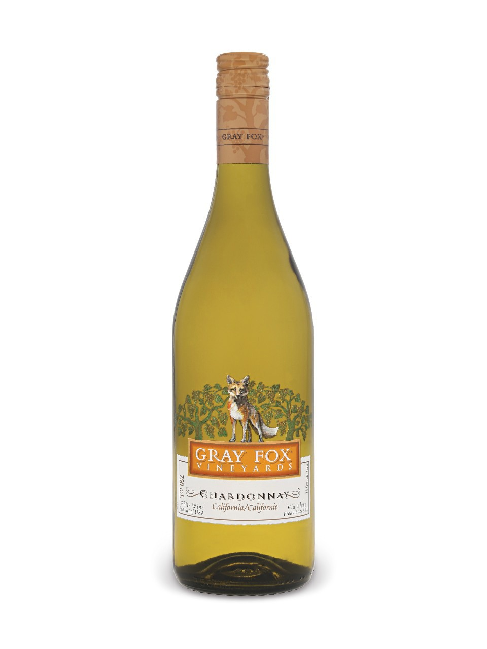 Image for Gray Fox Chardonnay from LCBO