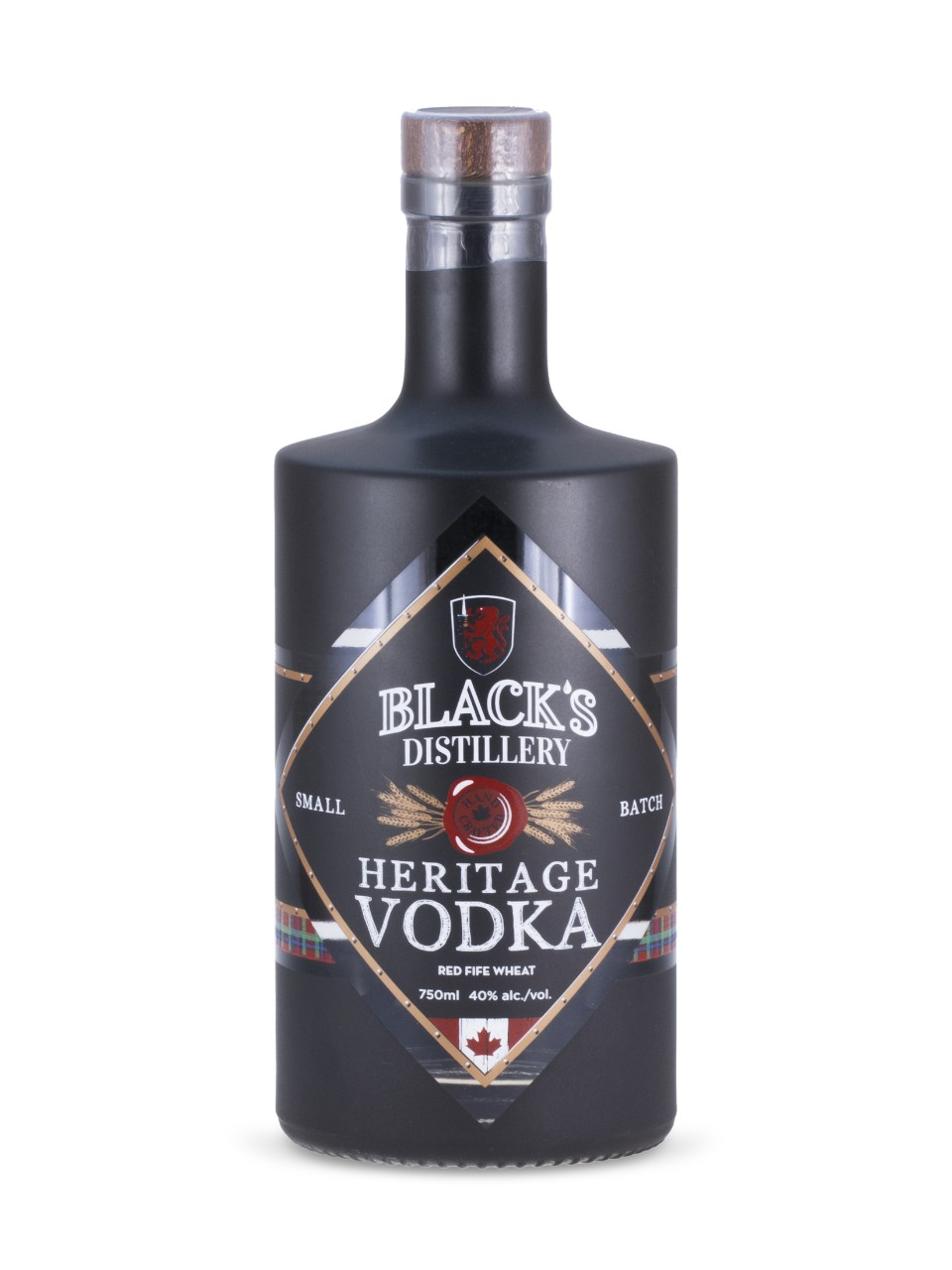 Image for Black's Heritage Vodka from LCBO