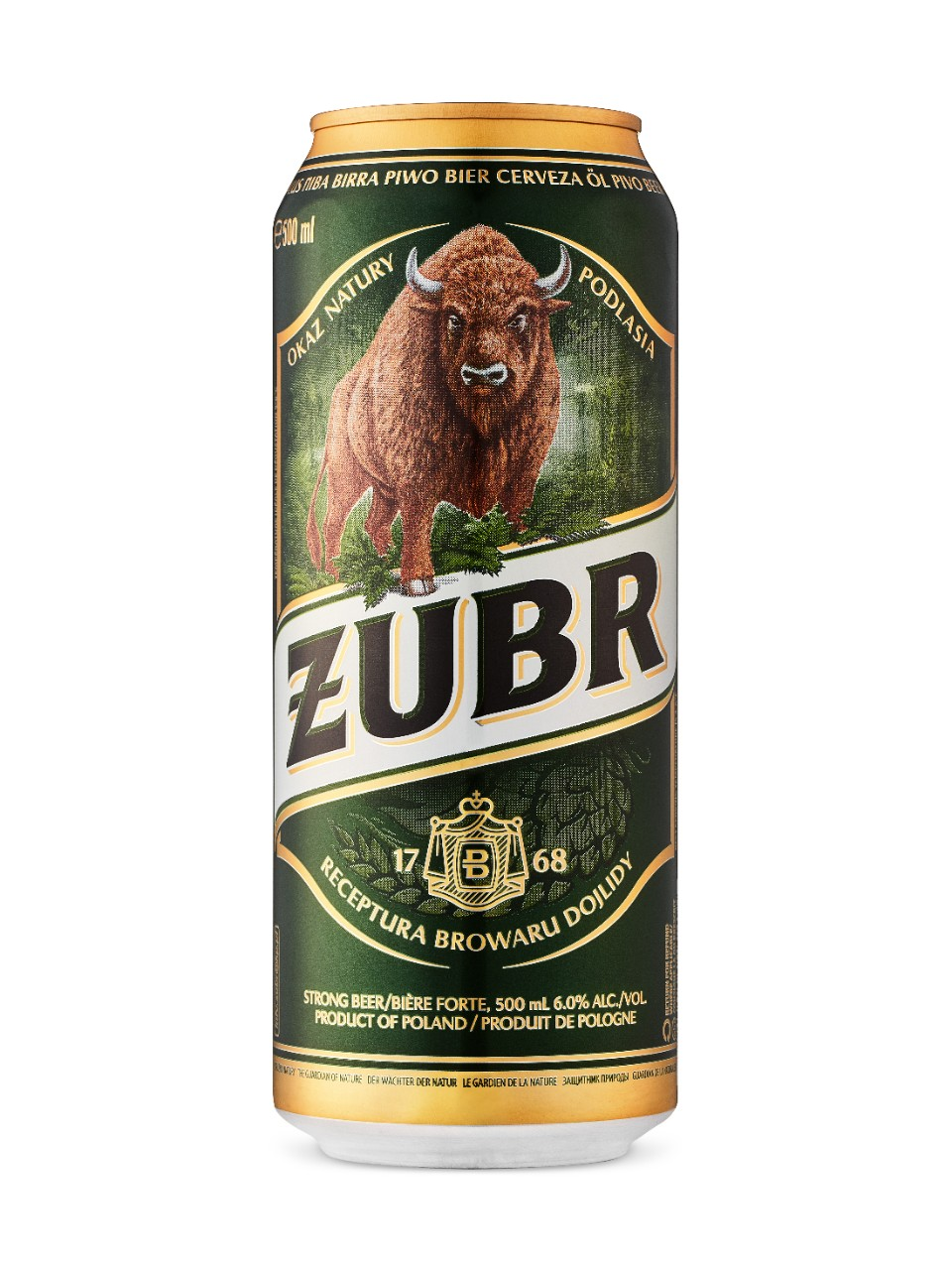 Zubr from LCBO