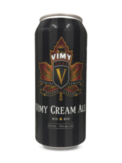 Vimy Brewing Co. Vimy Cream Ale