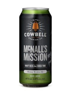 Cowbell Brewing Co McNall's Mission