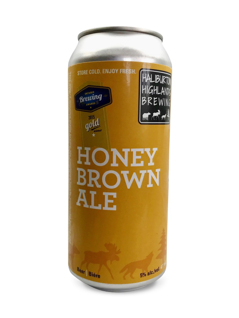 Image for Haliburton Highlands Brewing Honey Brown Ale from LCBO