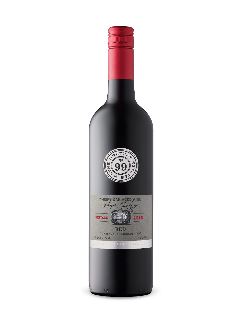 Image for Wayne Gretzky Whisky Oak Aged Red 2017 from LCBO
