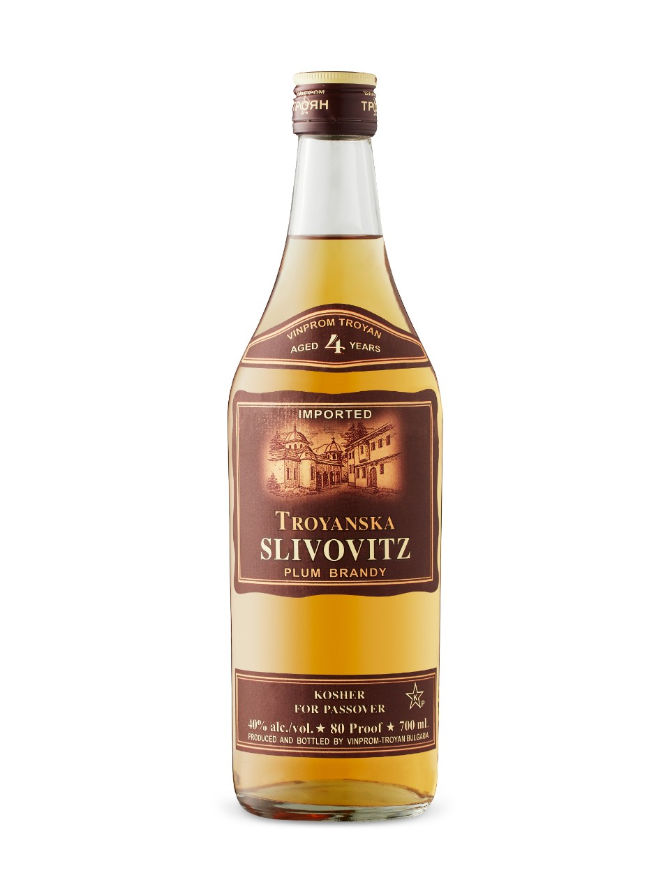 Troyanska Slivovitz Four-Year-Old Brandy