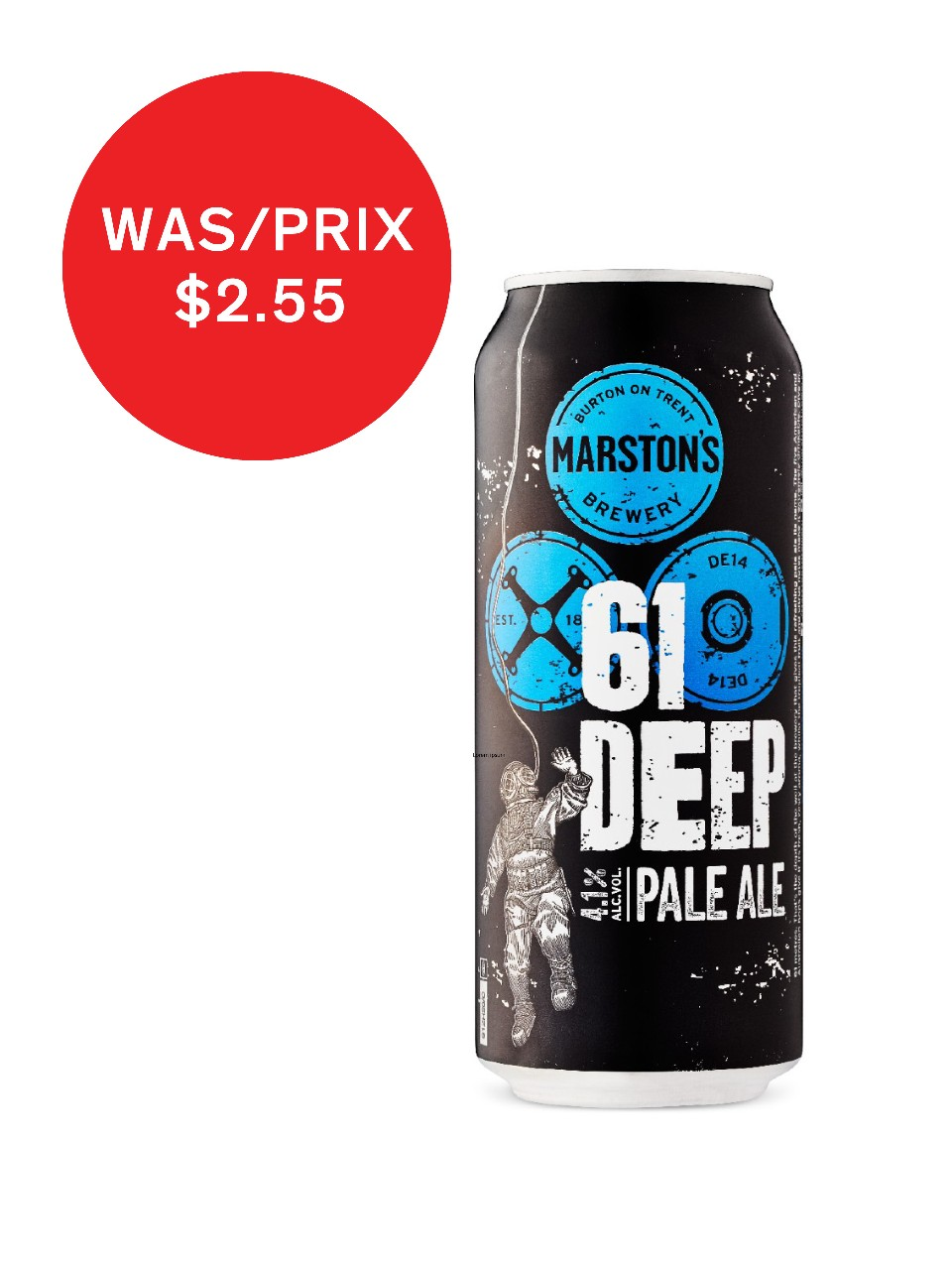 Image for Marston's 61 Deep Pale Ale from LCBO