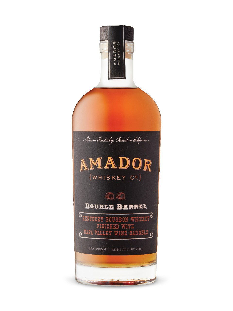Image for Amador Whiskey Co Double Barrel Kentucky Bourbon from LCBO