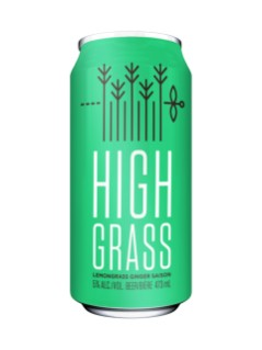 The Second Wedge Brewing High Grass Lemongrass Ginger Saison
