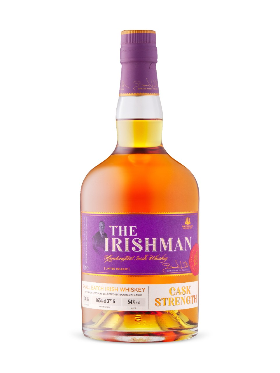 Image for The Irishman Cask Strength from LCBO