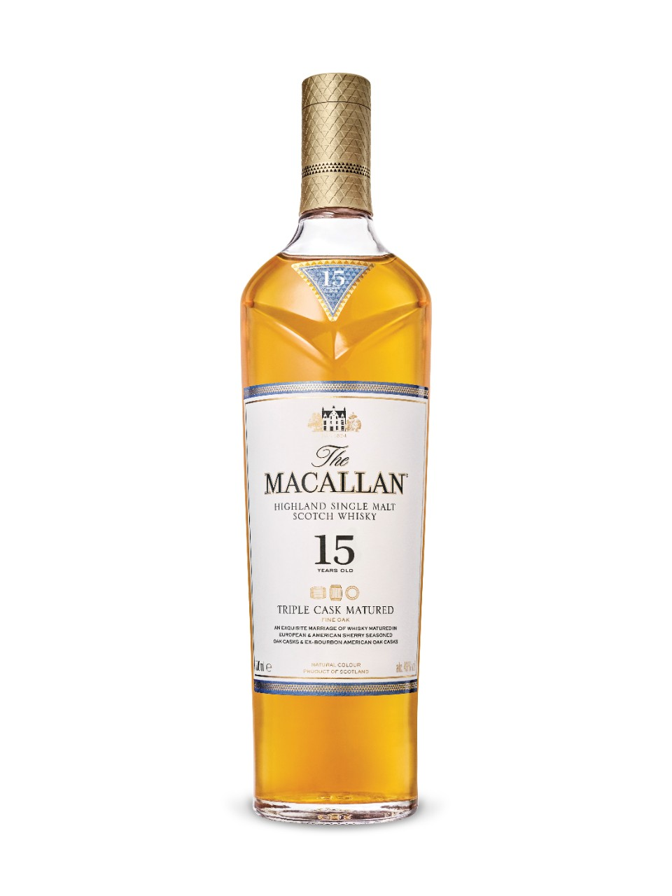 Image for The Macallan 15 Year Old Highland Single Malt Scotch Whisky Triple Cask from LCBO