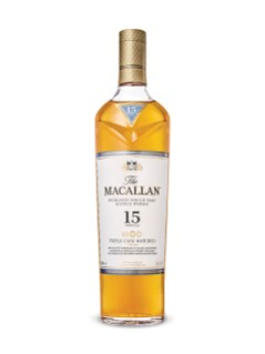 The Macallan 15 Year Old Highland Single Malt Scotch Whisky Triple Cask