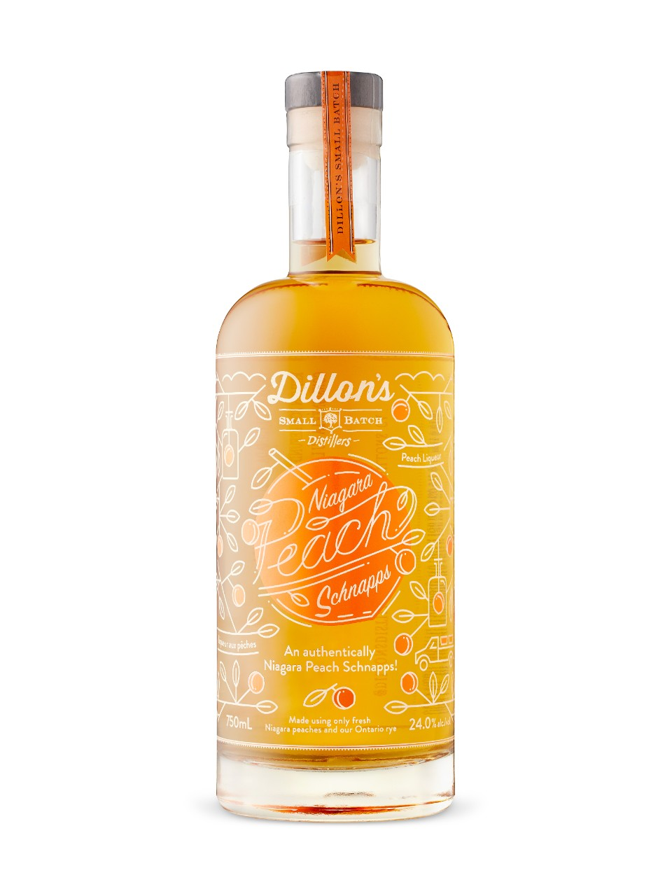 Image for Dillons Peach Schnapps from LCBO