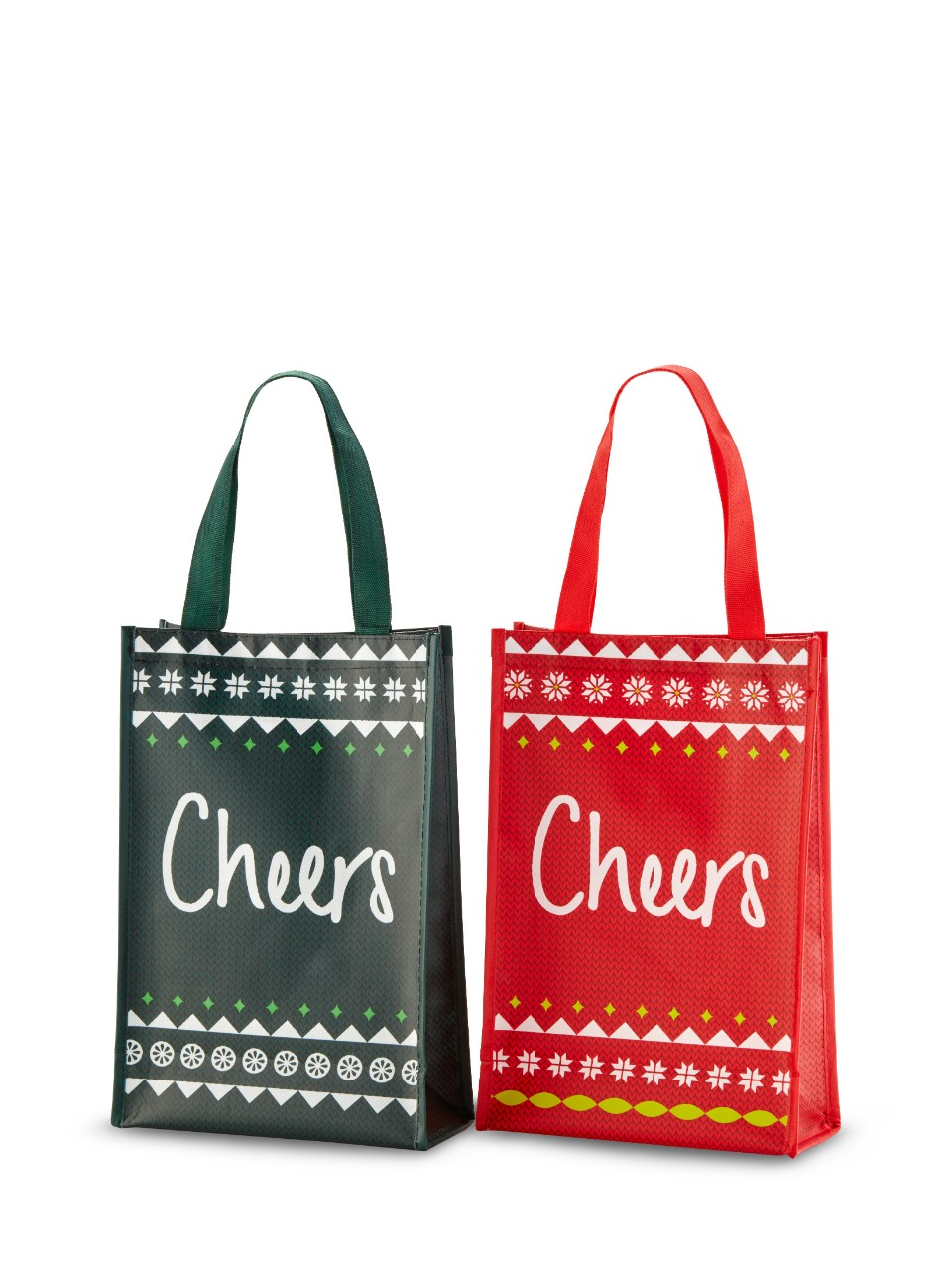 Image for Holiday Reusable 2 Bottle Bag from LCBO