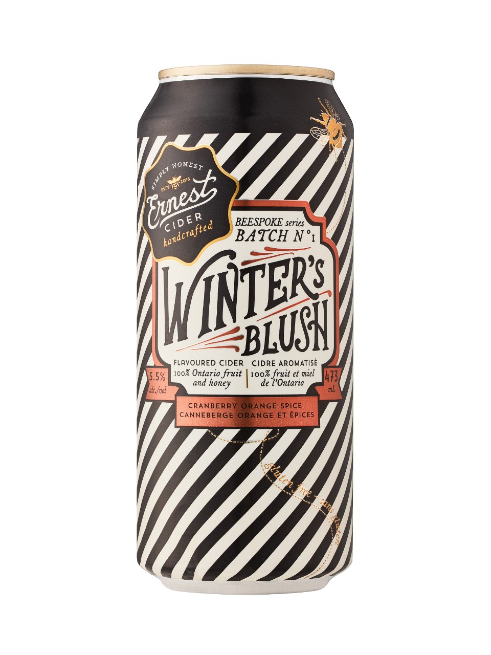 Image for Ernest Cider Winter's Blush from LCBO