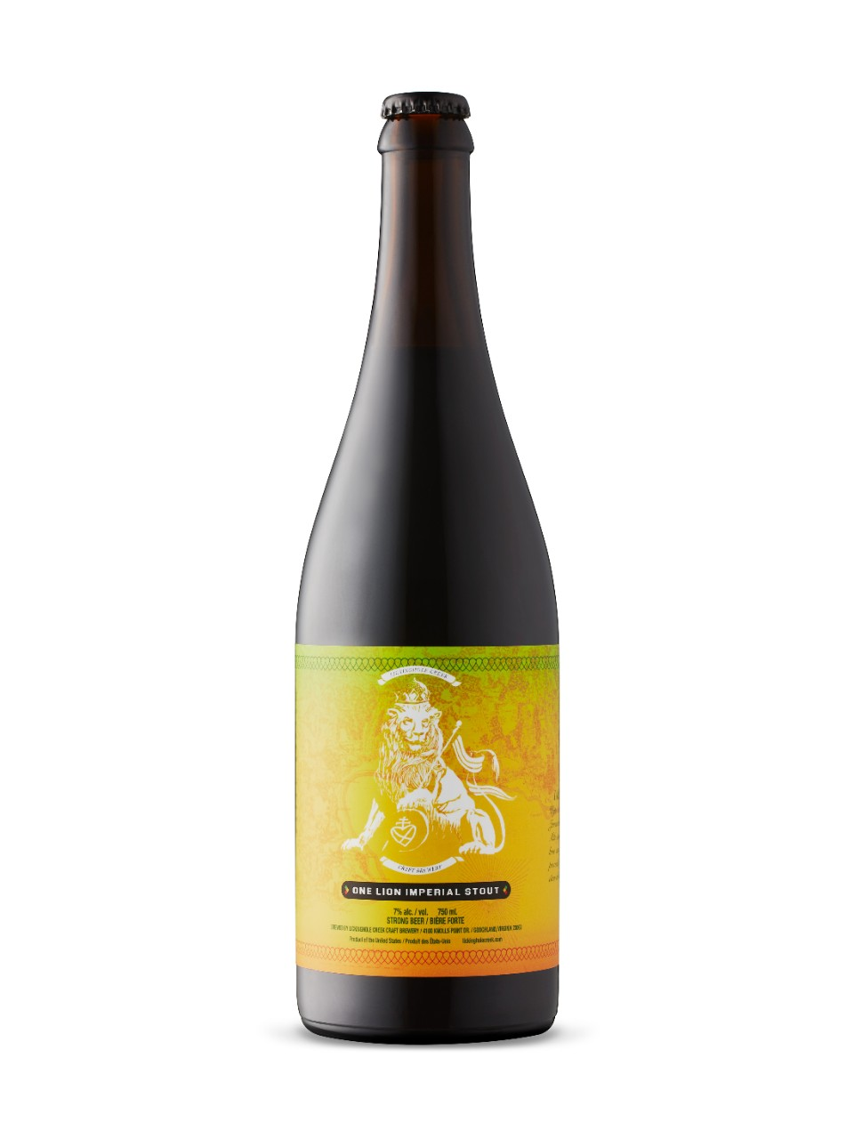 Image for Lickinghole Creek One Lion Imperial Stout from LCBO