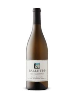 Balletto Estate Grown Estate Bottled Russian River Valley Chardonnay 2015