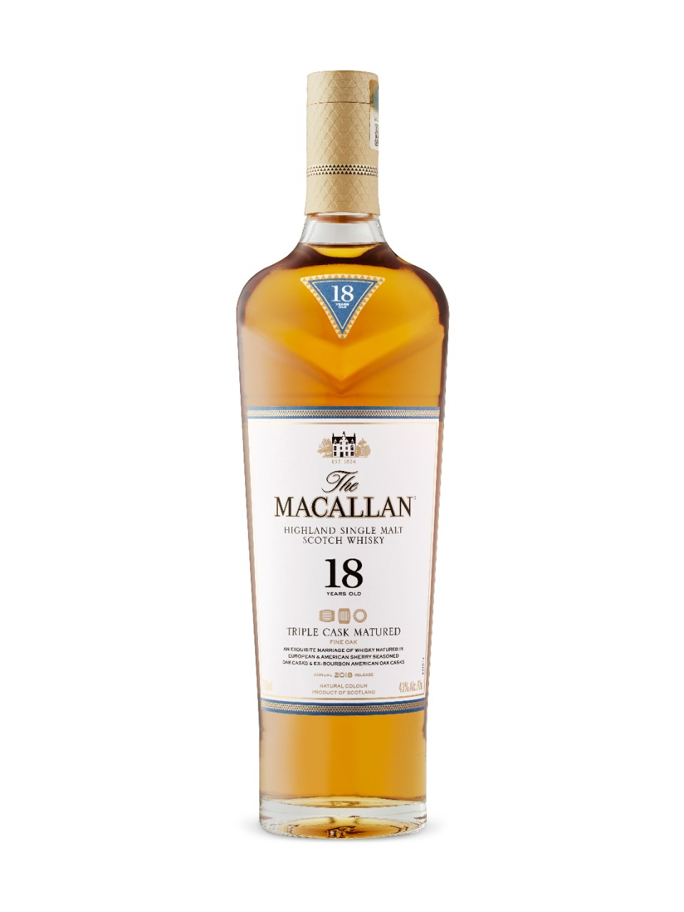 Image for 18 Yo Triple Cask (The Macallan Distillers) from LCBO
