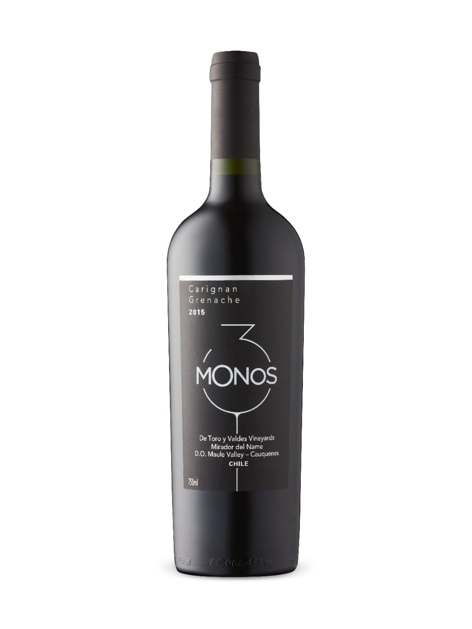 Image for 3 Monos Carignan Garnacha 2015 from LCBO