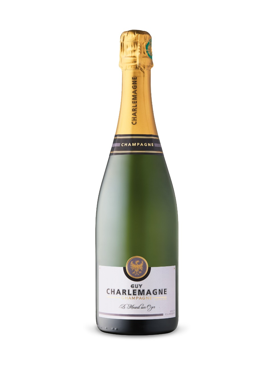 Image for Guy Charlemagne Classic Brut Champagne from LCBO