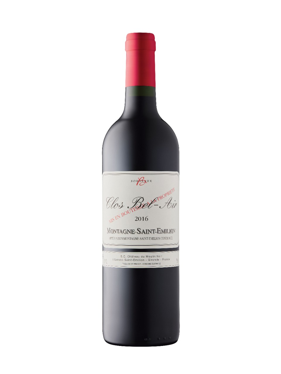 Image for Clos Bel-Air 2016 from LCBO