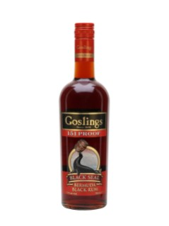 Gosling's Black Seal Rum 151 Proof