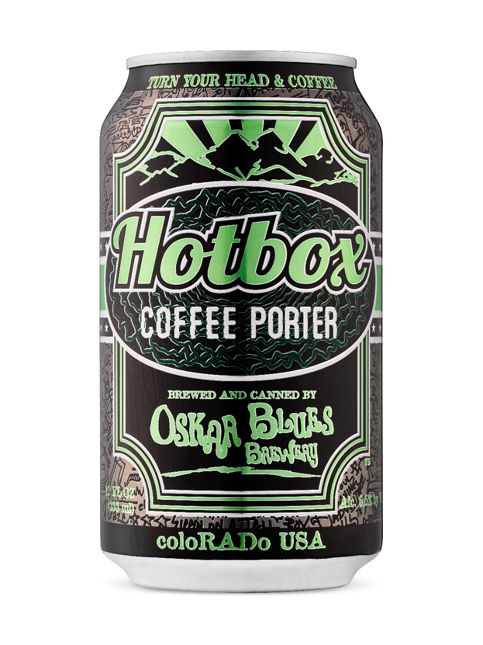 Image for Oskar Blues Hot Box Coffee Porter from LCBO