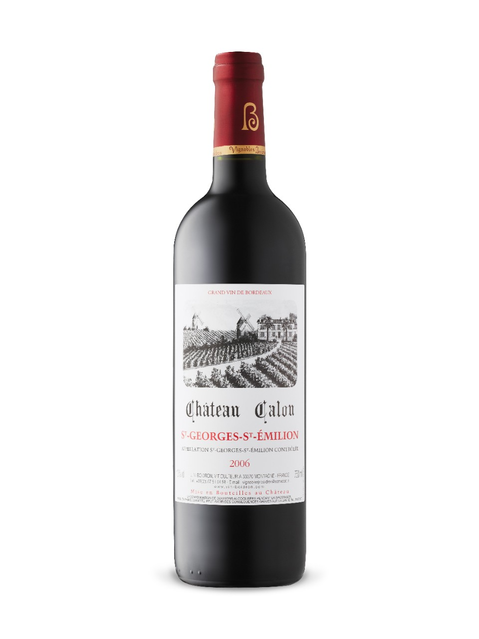 Image for Château Calon 2006 from LCBO