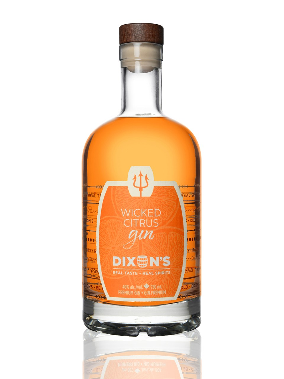 Image for Dixon's Wicked Citrus Gin from LCBO