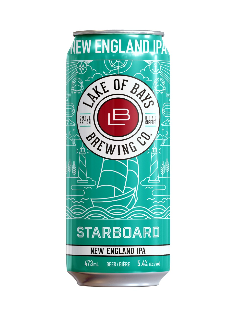 Image for Lake of Bays Brewing - Starboard New England IPA from LCBO