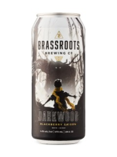 Brassroots Brewing - Darkwood Blackberry Saison