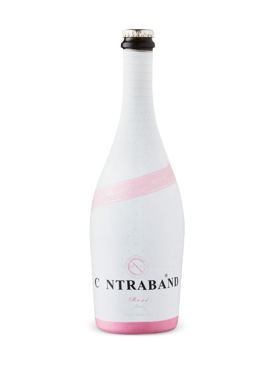 Image for Contraband Sparkling Rose Brut VQA from LCBO