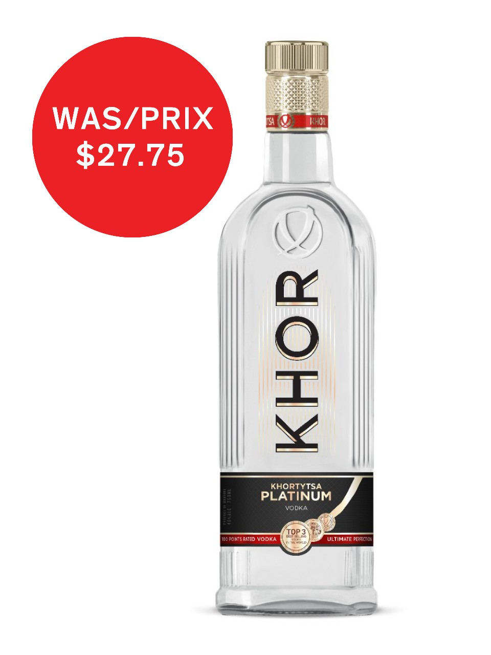Khor - Platinum Vodka from LCBO