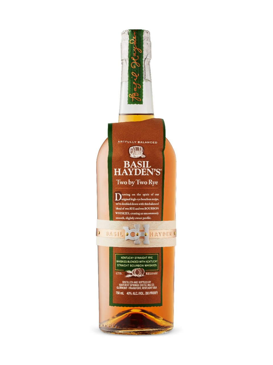 Image for Basil Hayden's Two By Two Rye from LCBO
