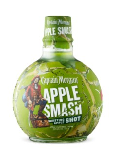 Boisson au rhum Captain Morgan Apple Smash