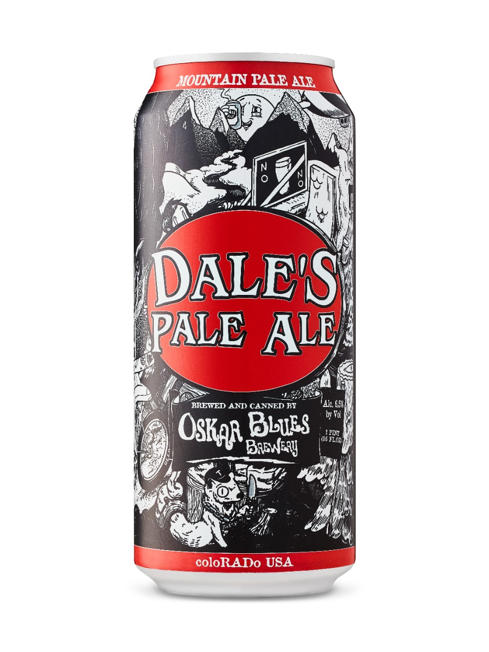 Image for Oskar Blues Dales Pale Ale from LCBO