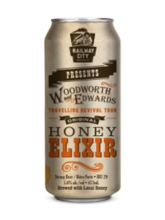 Railway City Brewing Honey Elixer