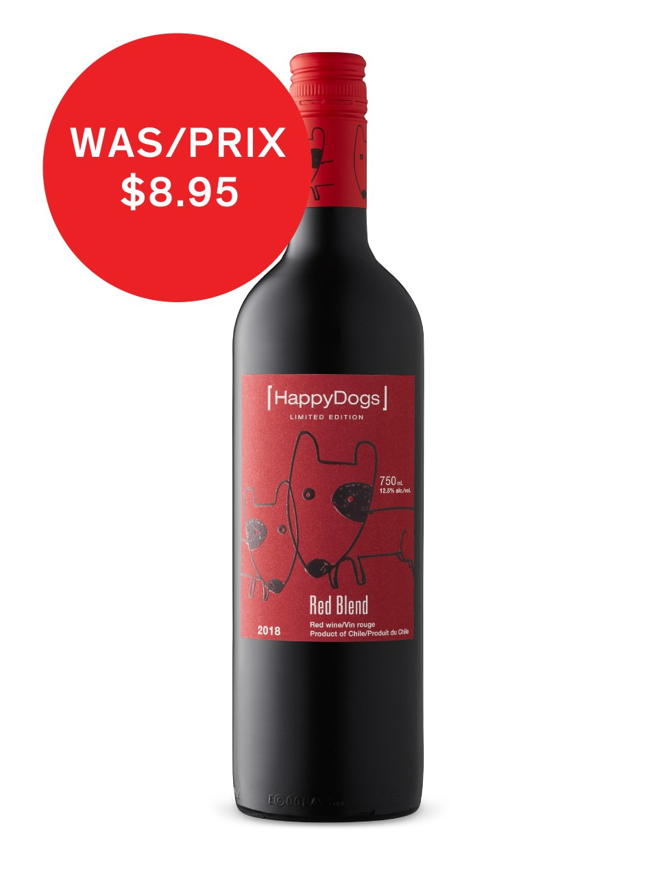 Image for Happy Dogs Red Blend from LCBO