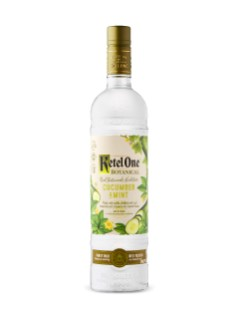 Vodka Ketel One Botanical Concombre et menthe