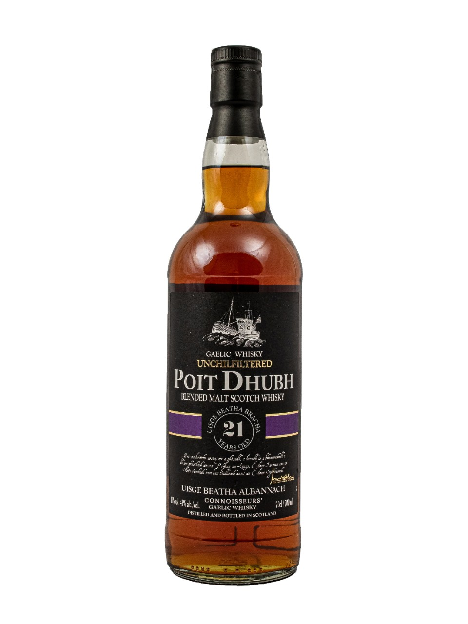 Pràban na Linne Poit Dhubh 21 Year Old Blended Malt Scotch Whisky from LCBO