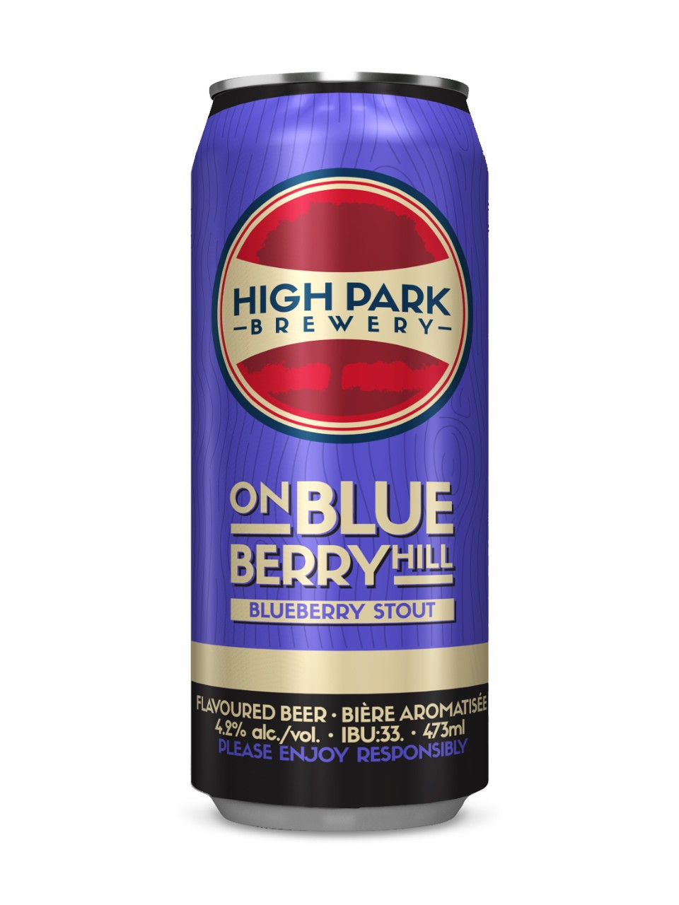 Image for High Park Brewery On Blueberry Hill Stout from LCBO