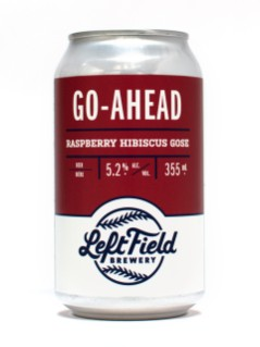 Left Field Go-Ahead Raspberry Hibiscus Gose